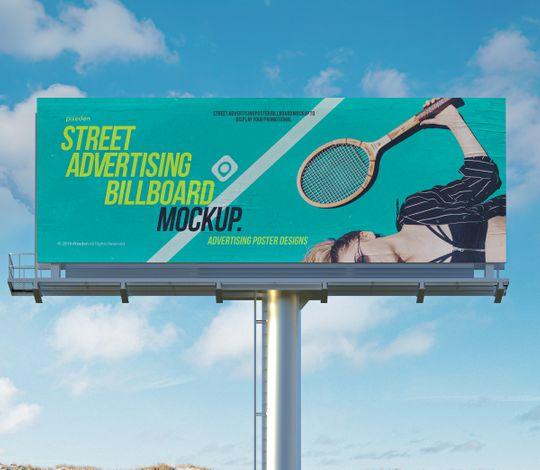 Advertising Psd Billboard Mockup Vol3