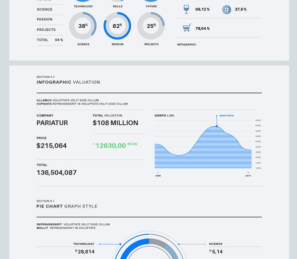 Infographic Vector Elements Vol3