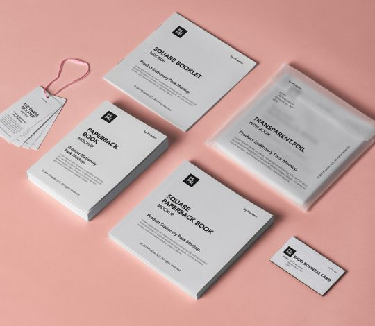 Product Stationery Psd Pack Mockup