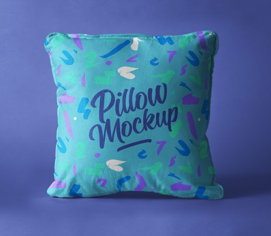 Psd Pillow Mockup Presentation Vol5