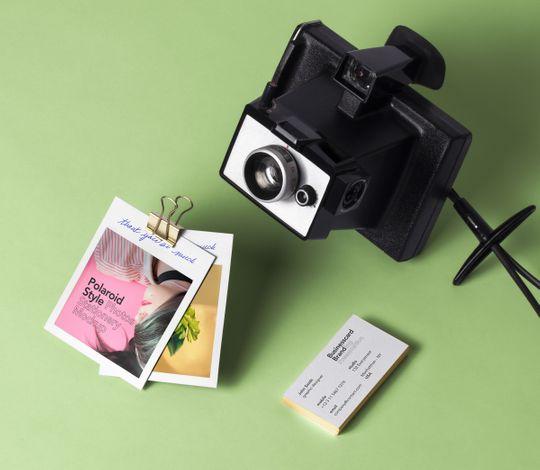 Psd Polaroid Photos Mockup