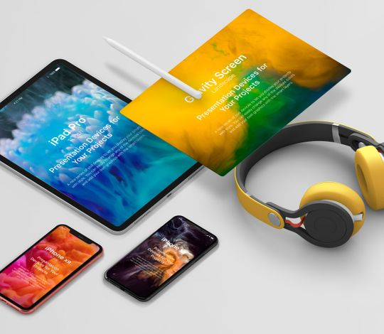 Psd Project Devices Showcase Vol2