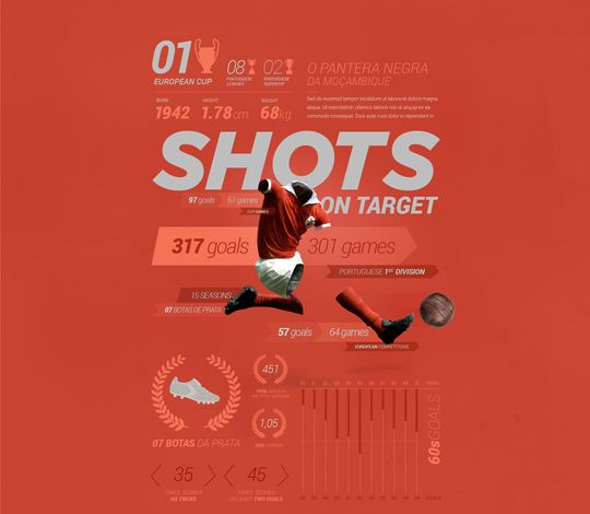 Sports Stats Infographic Pack Vol2